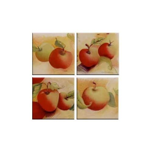 Tuftop Apples Coasters (Set of 4)