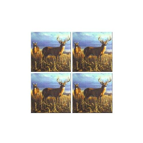 McGowan Tuftop Deer Local Legend Coasters