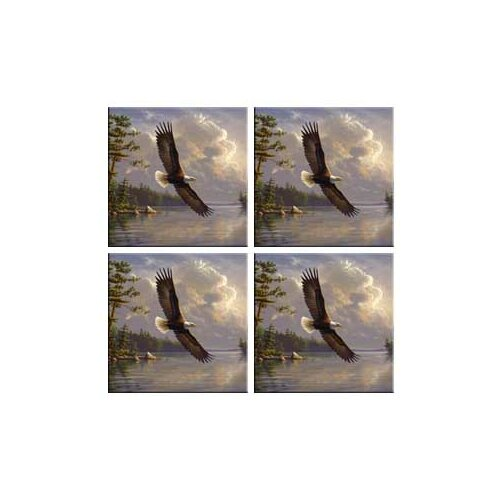 Tuftop Eagle Coasters (Set of 4)