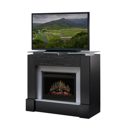 "Dimplex Jasper 48"" TV Stand with Electric Fireplace"