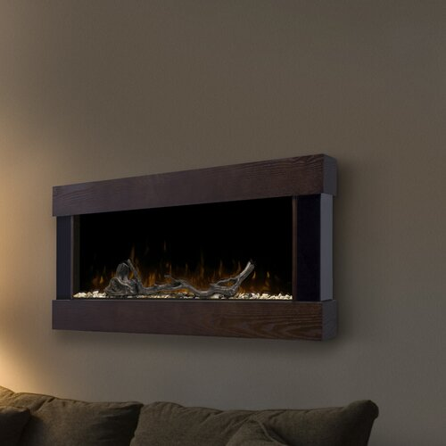Chalet Wall Mounted Electric Fireplace