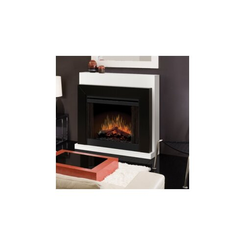 "Dimplex 33"" Convertible Contemporary Electric Fireplace"