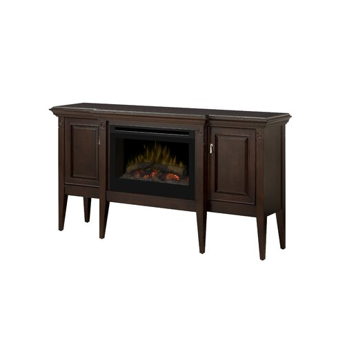 Dimplex Upton Contemporary Convertible Electric Log Fireplace