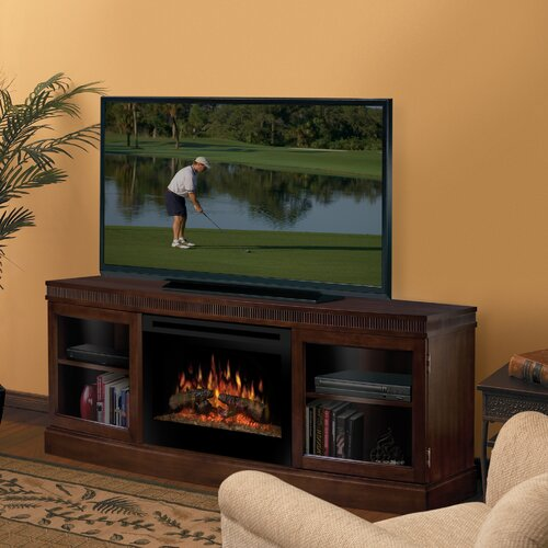 """Dimplex Wickford 54"""" TV Stand with Electric Fireplace"""