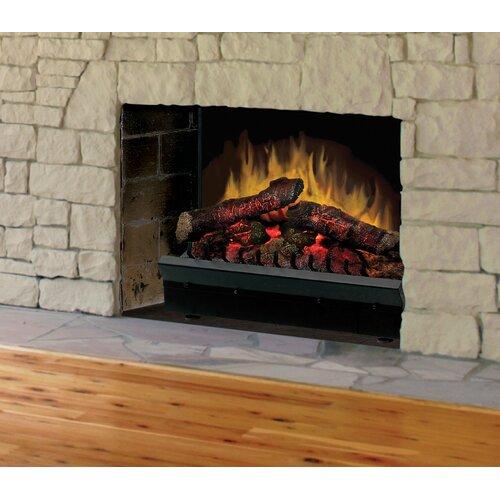 """Dimplex Electraflame 23"""" Deluxe Electric Fireplace Insert with LED Logs"""