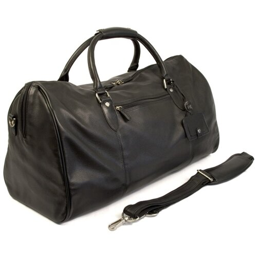 "Dr. Koffer Fine Leather Accessories Kipling 23"" Leather Carry-On Duffel"