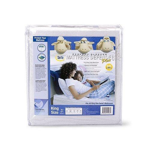 Serta Perfect Sleeper Serta Perfect Sleeper Mattress Defender Plus Waterproof Mattress Cover