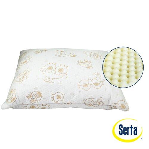 Serta Perfect Sleeper Nickelodeon SpongeBob SquarePants Memory Foam Standard Pillow