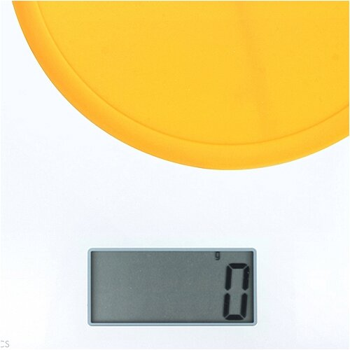 Kitrics Glass Top Scale with Silicon Platform