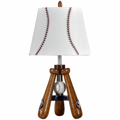 Style Craft Bat and Ball Table Lamp
