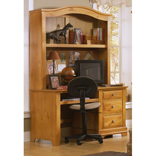 furniture chelsea square youth bedroom 44 w computer desk with hutch