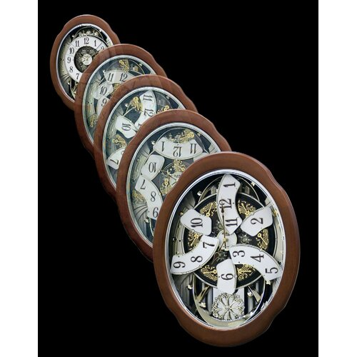 Rhythm U.S.A Inc Anthology Legend Melody Wall Clock
