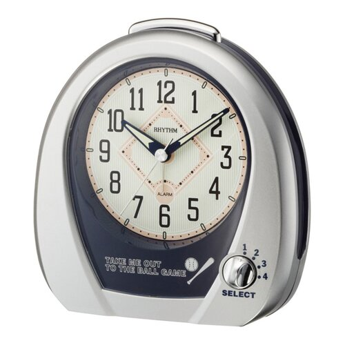 Rhythm U.S.A Inc Baseball Alarm Clock