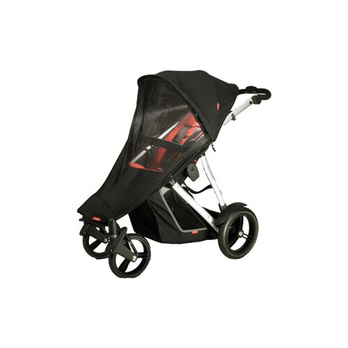 phil&teds Mesh Sun Cover for Verve Buggy in Singles Mode