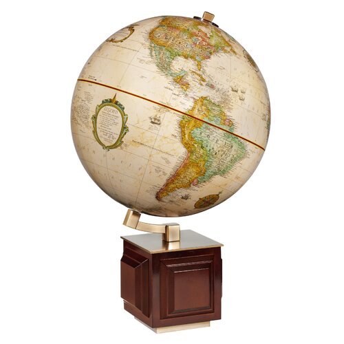 Replogle Globes Frank Lloyd Wright Four Square Globe
