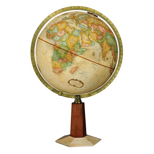 Replogle Globes Frank Lloyd Wright Leerdam Globe