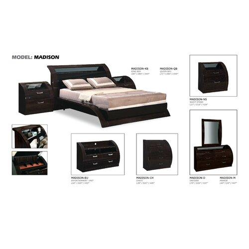 """Global Furniture USA Madison 54"""" TV Stand"""