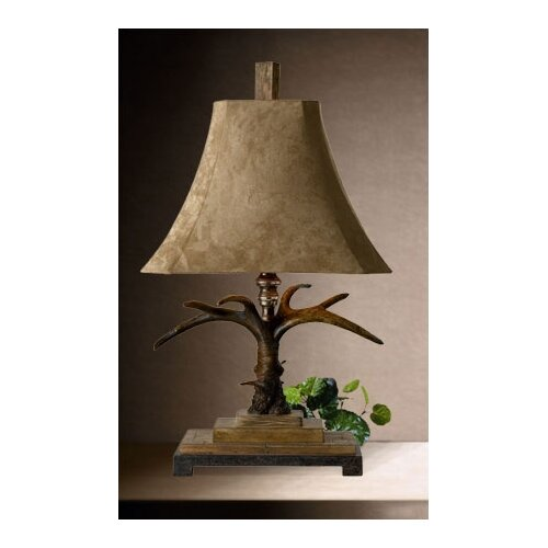 """Uttermost Stag Horn 32"""" H Table Lamp"""