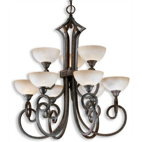 Uttermost Legato 9 Light Chandelier