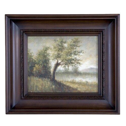 Pastoral Original Painting on Shadow Box