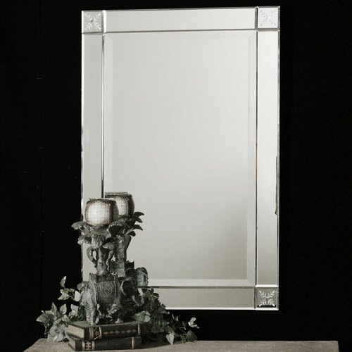 Emberlynn Frameless Wall Mirror