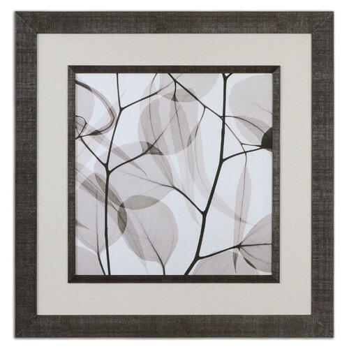 Eucalyptus Leaves Framed Painting Print