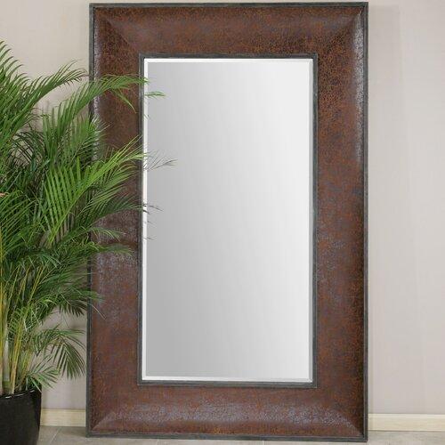 Draco Oversized Leather Mirror