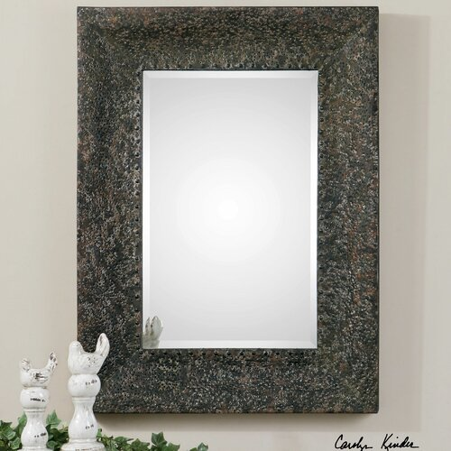 Fulvia Hammered Metal Mirror