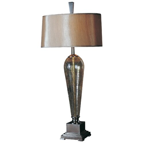 "Uttermost Celine 38"" H Table Lamp with Oval Shade"