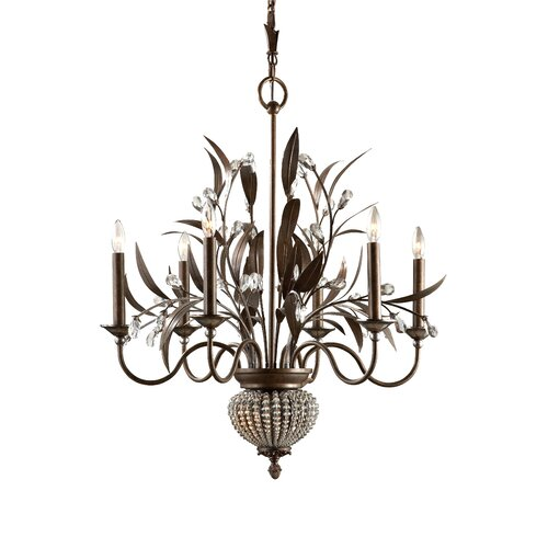Uttermost Cristal de Lisbon 8 Light Chandelier