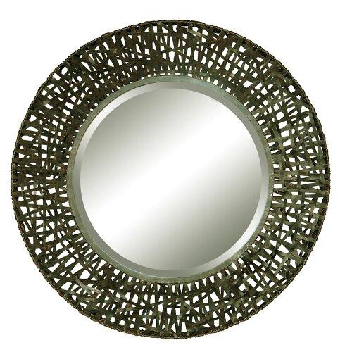 Alita Round Beveled Mirror
