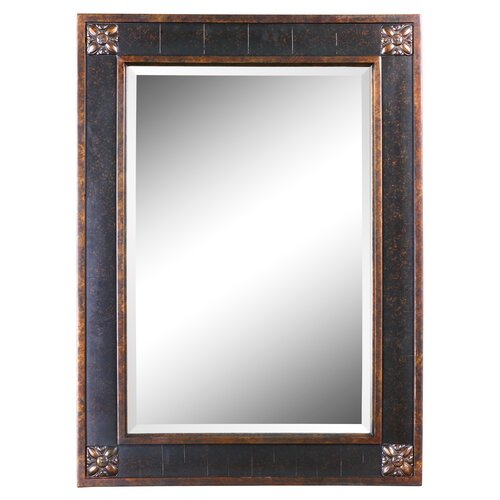 uttermost bergamo rectangular beveled vanity mirror reviews wayfair. Black Bedroom Furniture Sets. Home Design Ideas