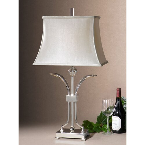"Uttermost Carovilli 32"" H Table Lamp with Rectangle Shade"
