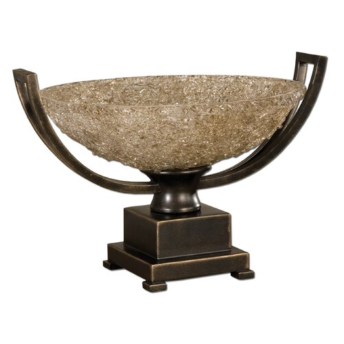 Uttermost Crystal Palace Centerpiece in Oil Bronze Patina