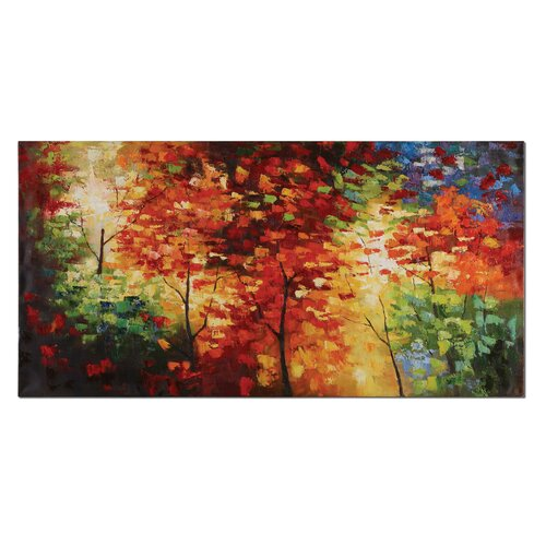 Bright Foliage by Matthew Williams Original Painting on Canvas