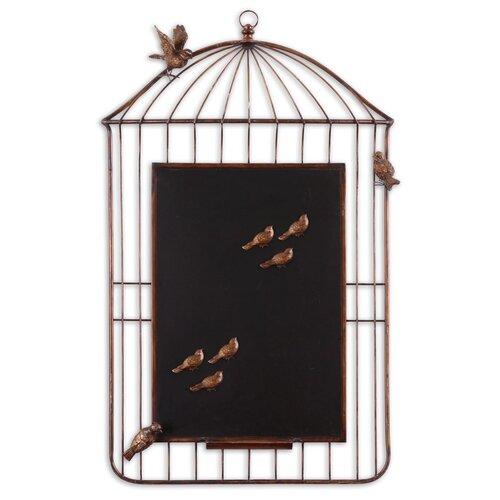 "Uttermost Birds Cage 3'3"" x 2' Chalkboard"