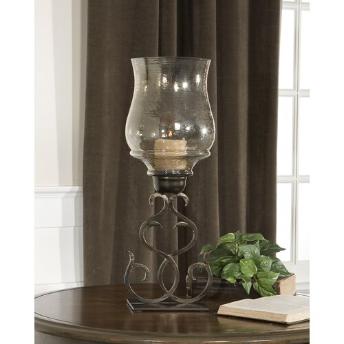 Uttermost Sorel Iron and Glass Hurricane