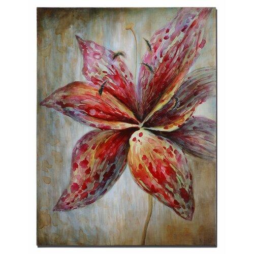Splash of Spring Floral Original Painting on Canvas
