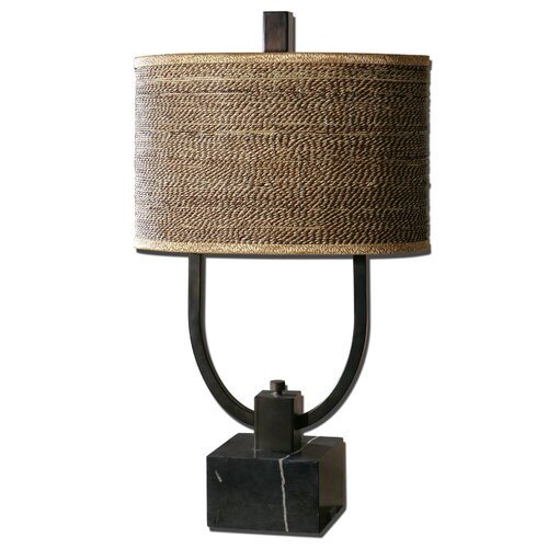 "Uttermost Stabina 29.5"" H Table Lamp with Drum Shade"