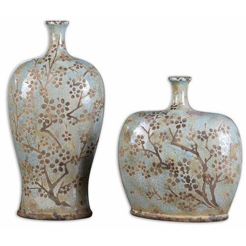 Uttermost 2 Piece Citrita Decorative Vase Set