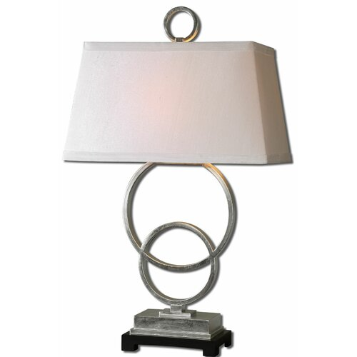 """Uttermost Bacelos 34"""" H Table Lamp with Rectangle Shade"""