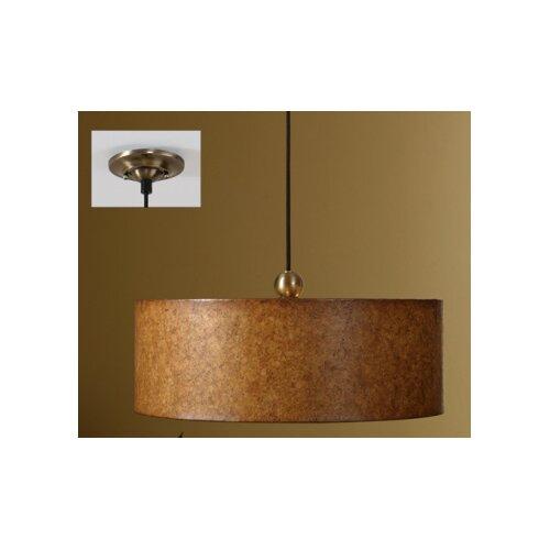 Uttermost Sonoma 3 Light Hanging Drum Foyer Pendant