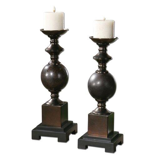 Uttermost Marcie Ceramic Candlestick