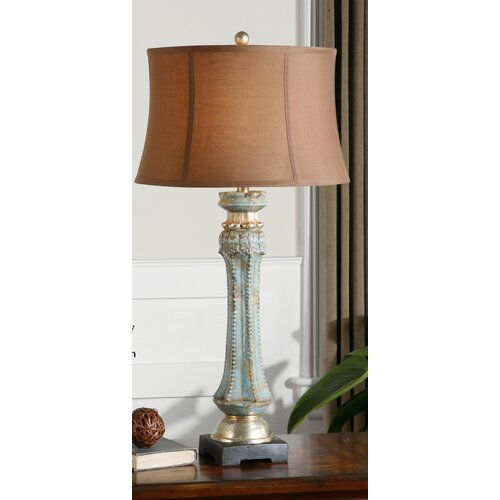 """Uttermost Deniz 35"""" H Table Lamp with Bell Shade"""