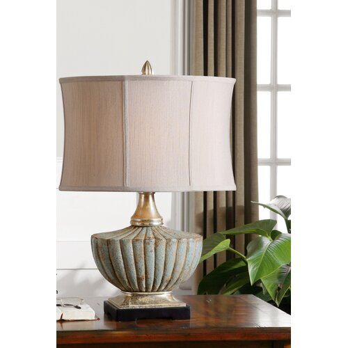 "Uttermost Civitella 25"" H Table Lamp with Oval Shade"