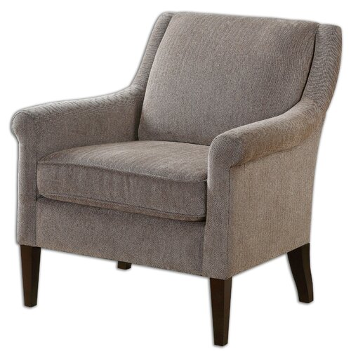 Nelle Herringbone Arm Chair