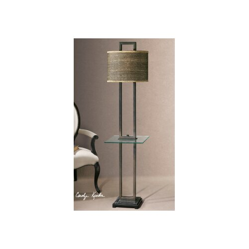 """Uttermost Stabina 67"""" H Table Lamp with Oval Shade"""