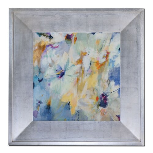 Mirage Floral by Grace Feyock Framed Original Painting