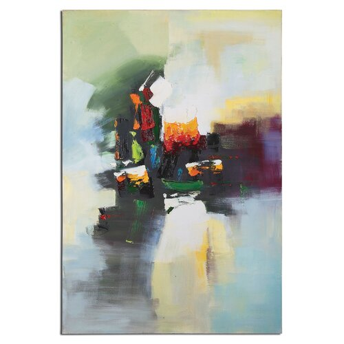 Lifestyle Abstract by Matthew Williams Original Painting on Canvas