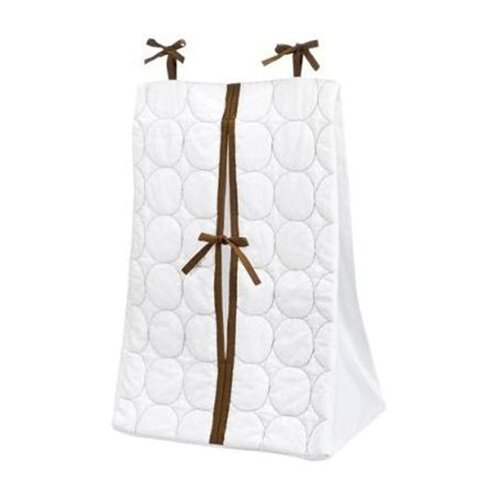 Quilted Circles Diaper Stacker